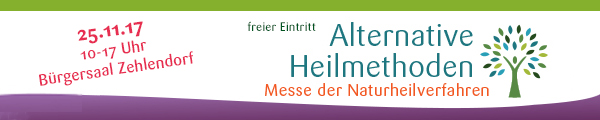 Messe Alternative Heilmethoden Zehlendorf Berlin 2017